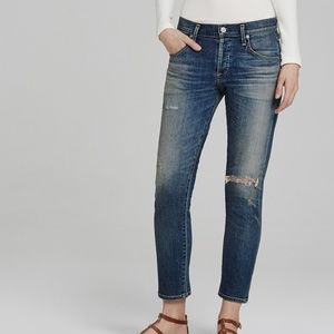 Citizens of Humanity Elsa Mid-Rise Slim Fit Crop